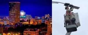 美国物联网路灯可检测交通及车辆数据振动机械